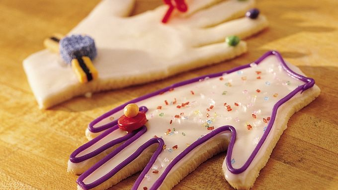 Give-a-Hand Cookies