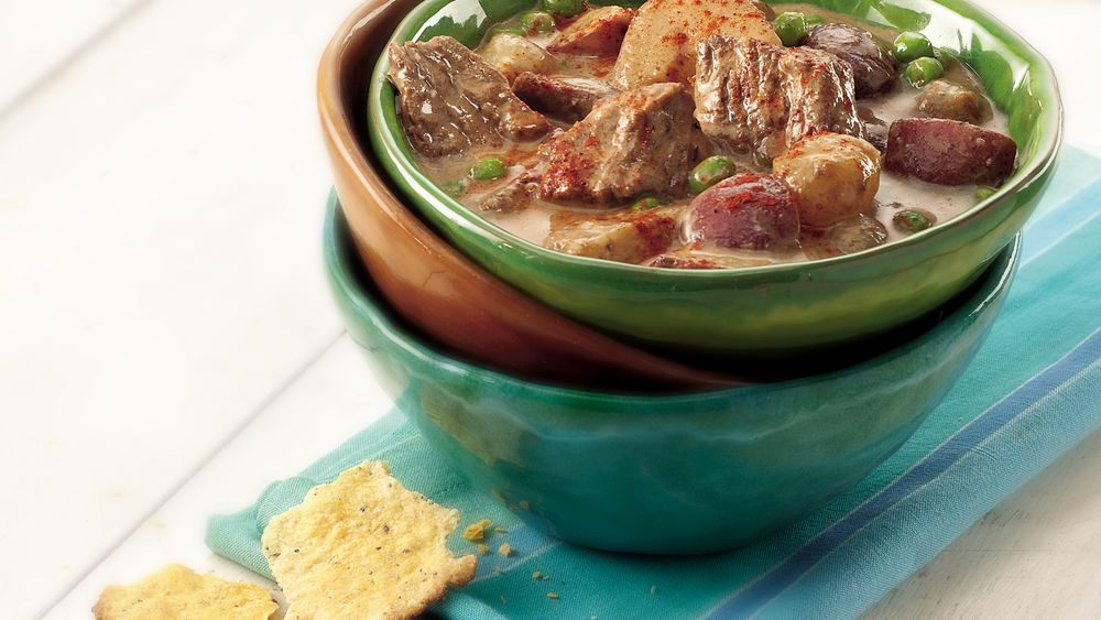 Slow-Cooker Hungarian Beef Stew