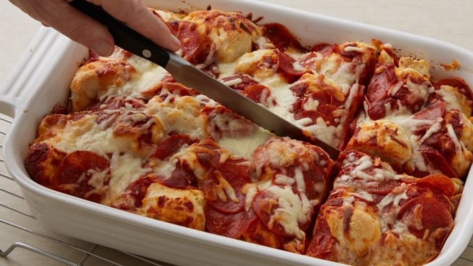 Impossibly Easy Pizza Bake Recipe - Tablespoon.com
