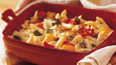 Roasted Vegetable and Pasta Casserole