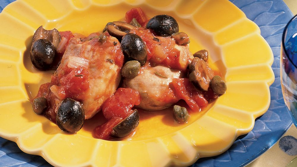 Slow-Cooker Chicken Italiano