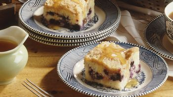 Blueberry-Pineapple Buckle