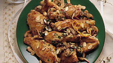 Elegant Orange-Almond Chicken