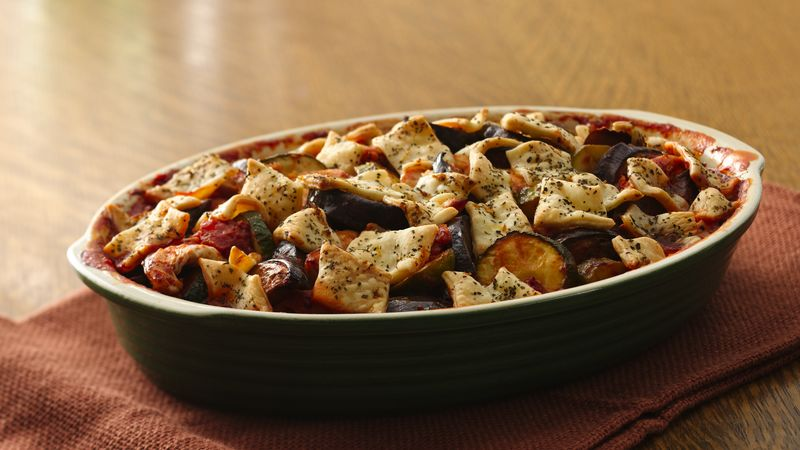 Herb-Crusted Chicken Ratatouille