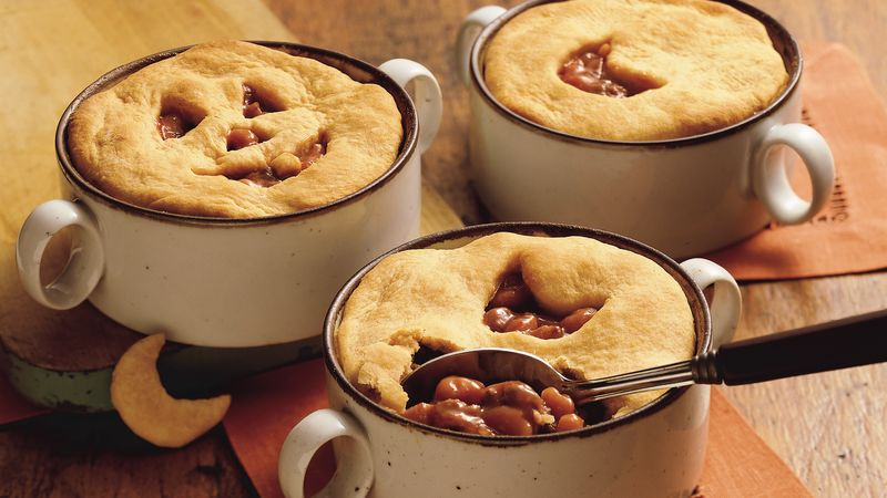 Beef and Bean Pot Pie