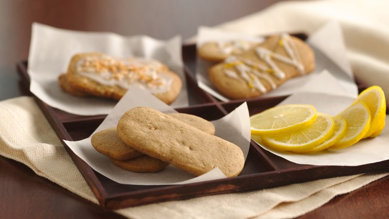 Brown Sugar Refrigerator Cookies