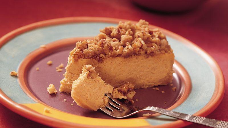 Sweet Potato Cheesecake
