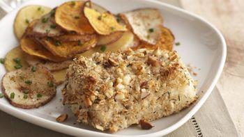 Skinny Almond-Crusted Fish