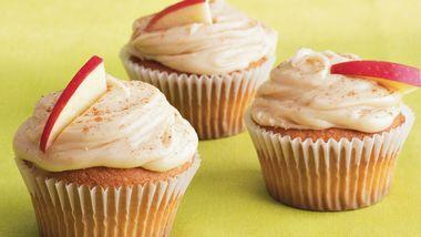 Caramel Spice Cupcakes