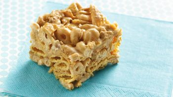 Peanut Butter-Cereal Bars