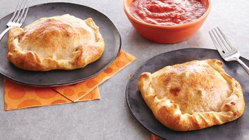 Sausage and Pepper Calzones