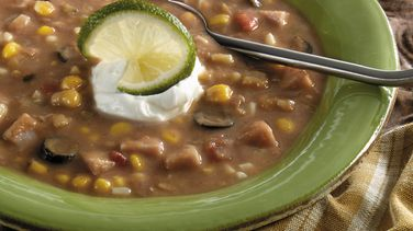Jamaican Ham and Bean Soup