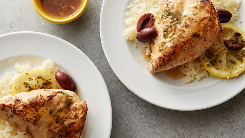 Slow-Cooker Lemon Chicken