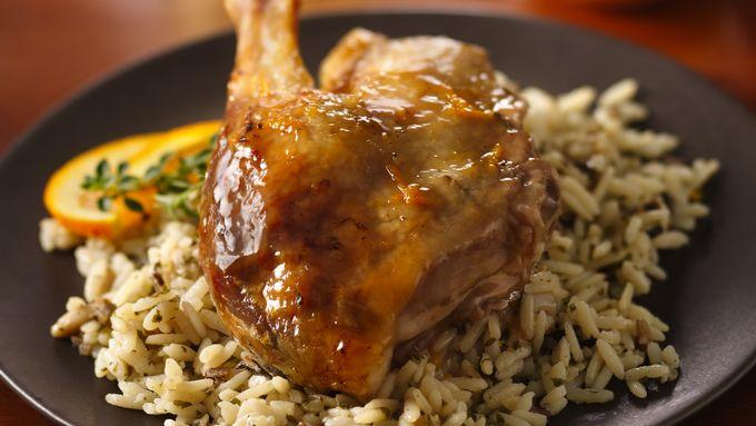 Roast Duck with Orange Sauce