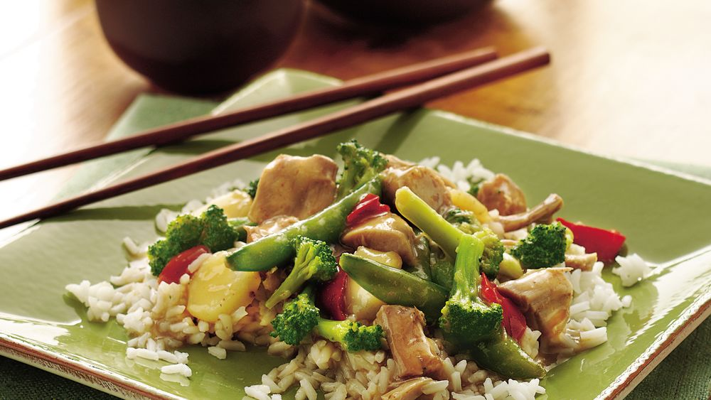 Slow-Cooker Asian Turkey and Vegetables