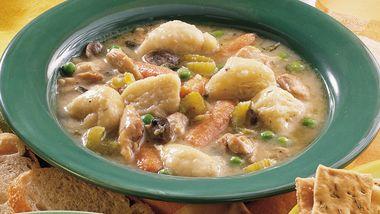 Slow-Cooker Chicken and Grands Dumplings