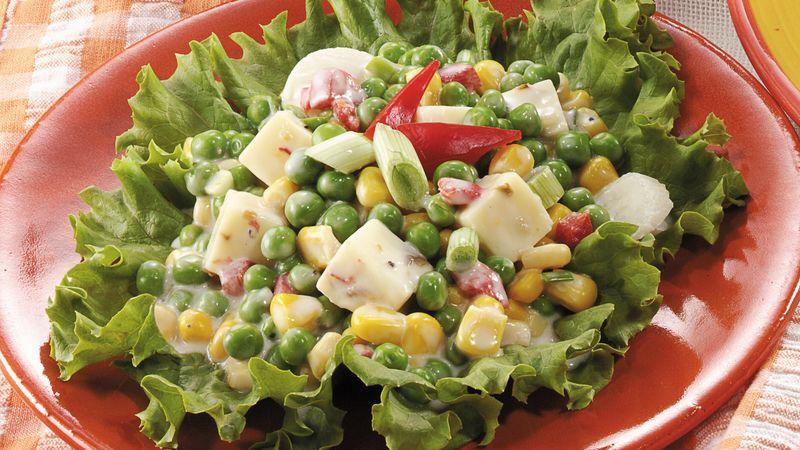 Crunchy Corn and Pea Salad