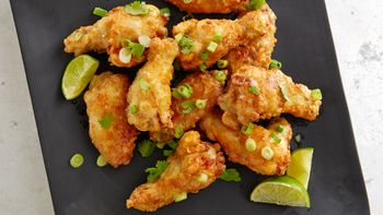 Green Coconut Curry Hot Wings