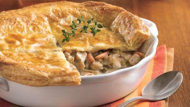 Chicken Pot Pie with Flaky Crust