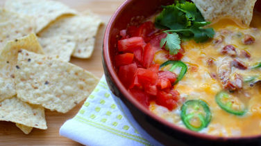 Jalapeño and Chorizo Cheese Dip