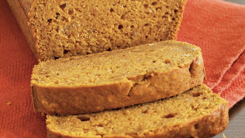 Browned Butter Pumpkin Bread