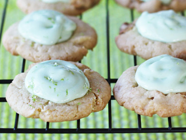 topping = totally delicious. White Chocolate Key Lime Thumbprint ...