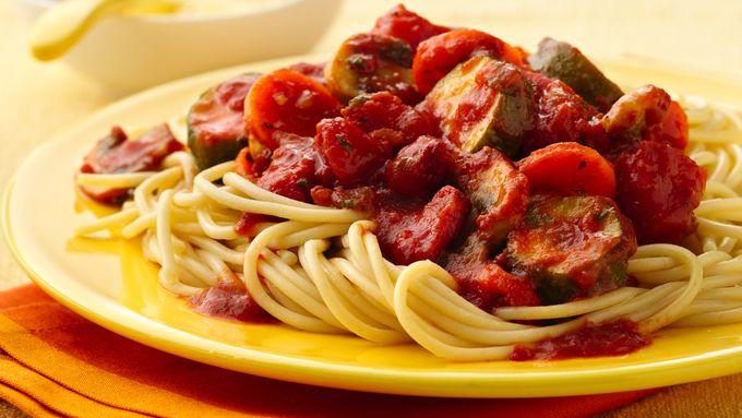 Chunky Vegetable Spaghetti