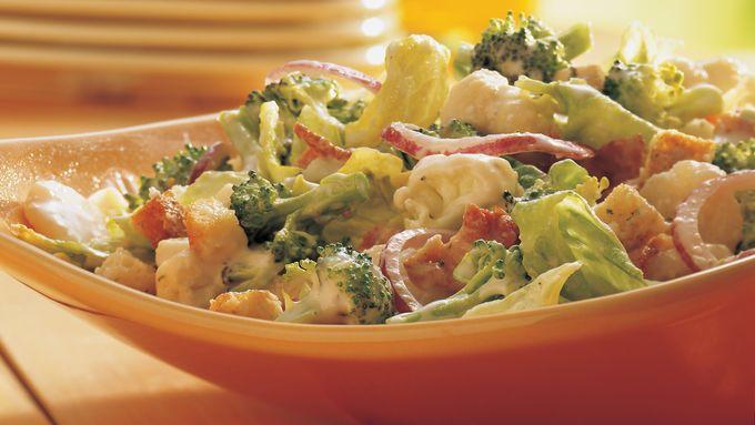 Vegetable Parmesan Toss