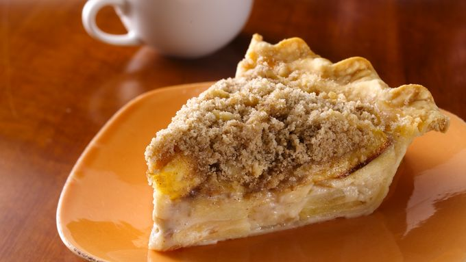 Sour Cream-Apple Pie