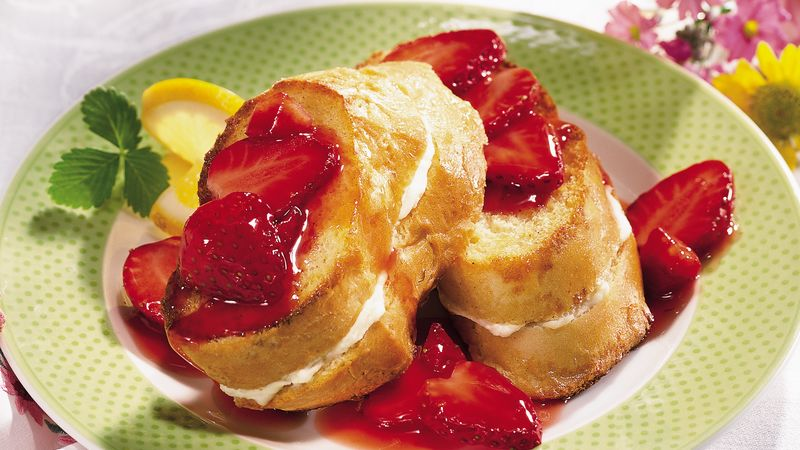 Strawberry-Topped French Toast Bake