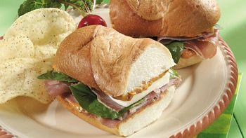 Prosciutto Sandwiches
