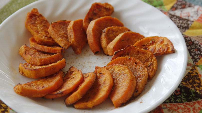 Sweet Potatoes with Caribbean Spices