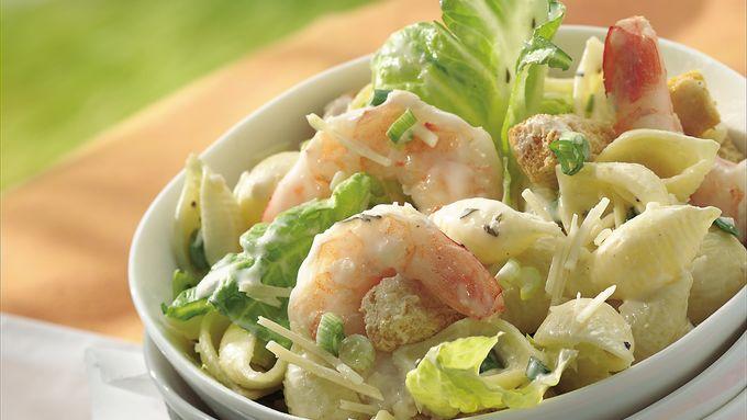 Caesar Shrimp Salad