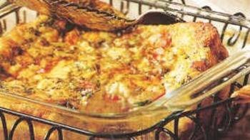 Gluten-Free Crab Scramble Casserole