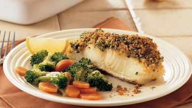 Gremolata-Topped Sea Bass