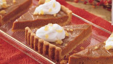 Ginger Pumpkin Tart
