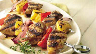 Caribbean Chicken Kabobs