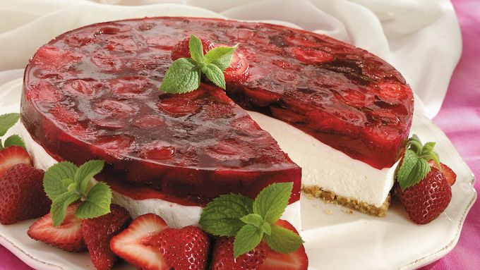 Strawberry Cream Cheese Dessert