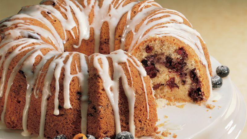 Blueberry-Cherry Coffee Cake