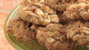 Tropical Oatmeal Cookies