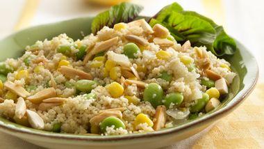 Couscous, Corn and Lima Bean Sauté