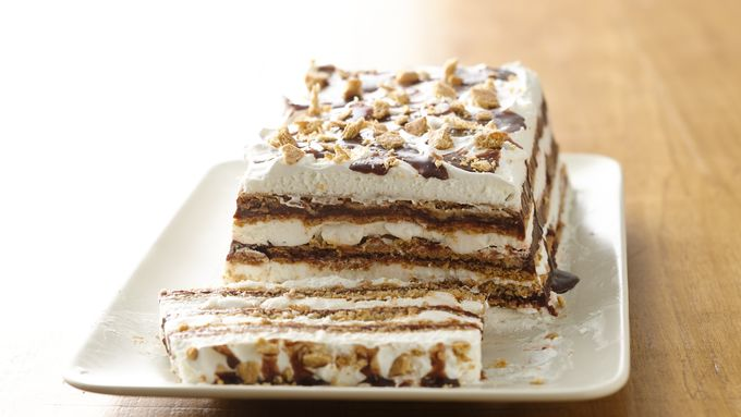 S'mores Ice Box Cake