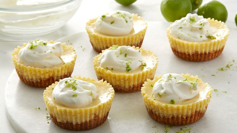 Muffin-Tin Key Lime Pies