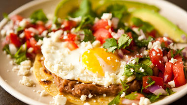 Huevos Rancheros with Pico de Gallo