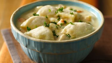 Quick Chicken and Dumplings (Cooking for Two)