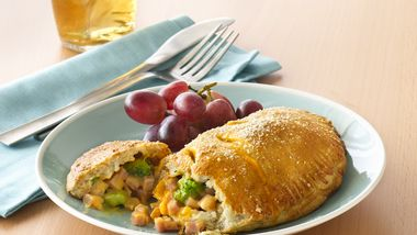 Broccoli, Ham and Cheese Foldovers