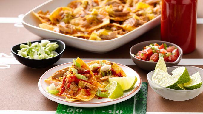 Slow-Cooker Crispy Carnitas Nachos