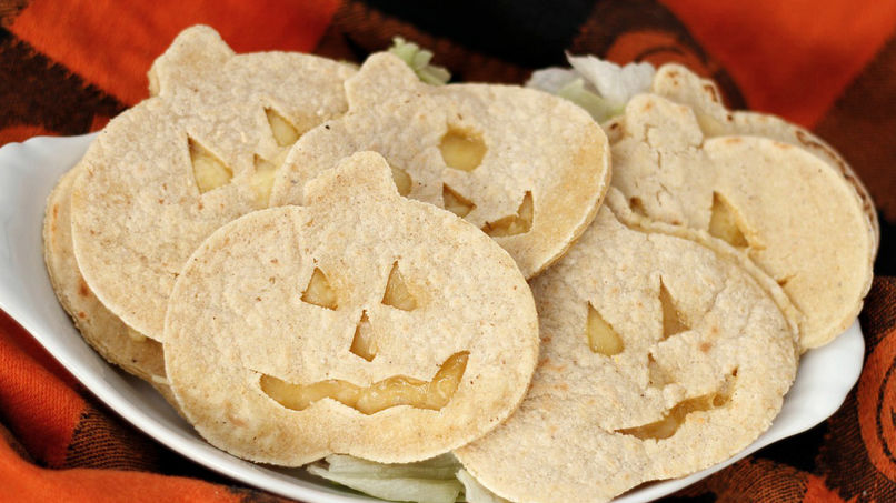 Quesadillas de Halloween