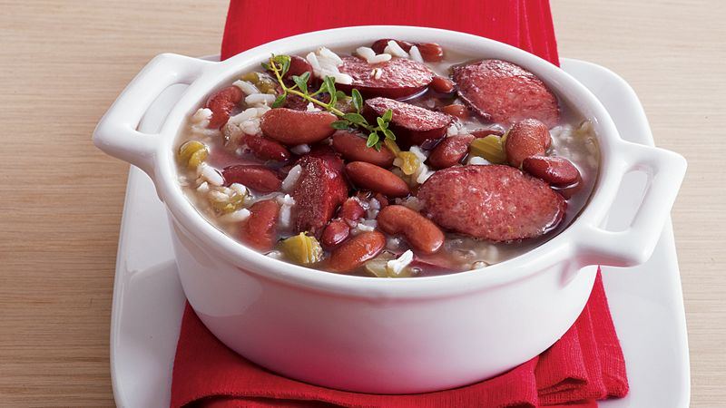 Red Beans and Rice Soup
