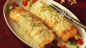 Cheesy Vegetable Crepes